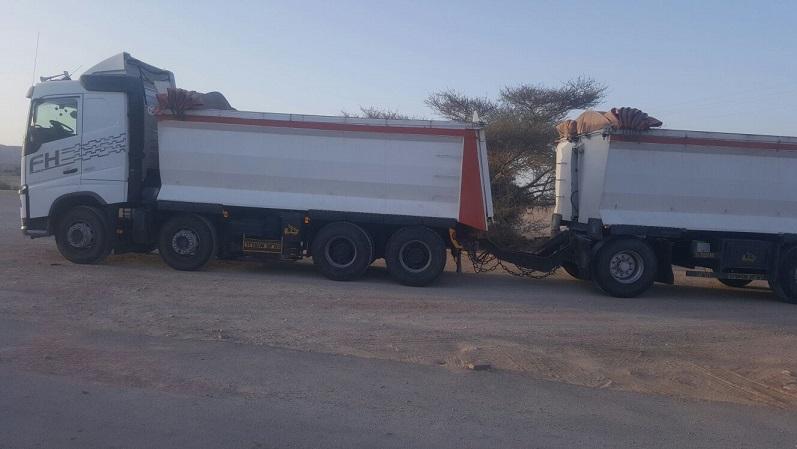 נהג משאית פול טריילר במשקל 64 טון נתפס כשהוא נוהג שיכור